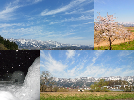 飯山の風景